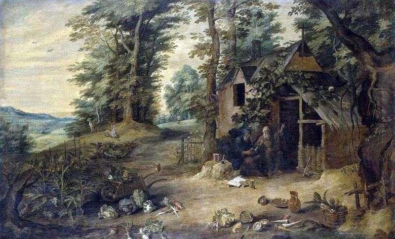 Зустріч святого Антонія Великого і Павла Пустельника   Давид Тенірс