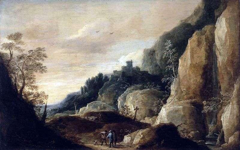 Гірський пейзаж   Давид Тенірс