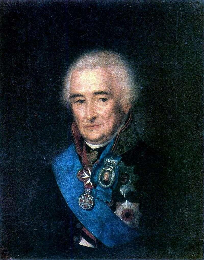 Портрет П. В. Лопухіна   Степан Щукін