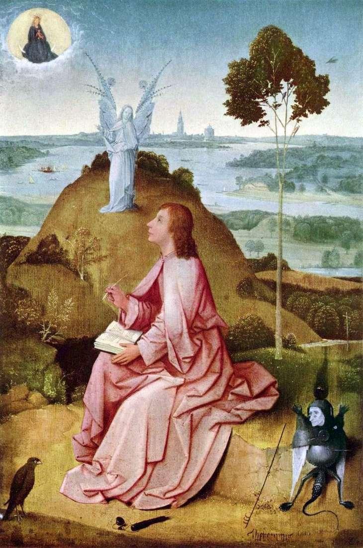 Святий Іоанн Богослов на острові Патмос   Иеронимус Босх