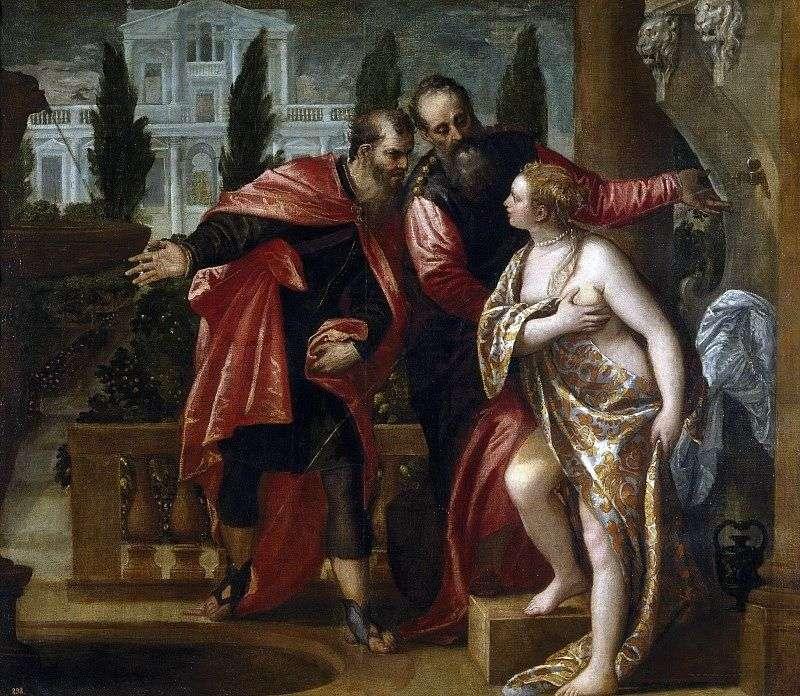 Сусанна і старці   Паоло Веронезе