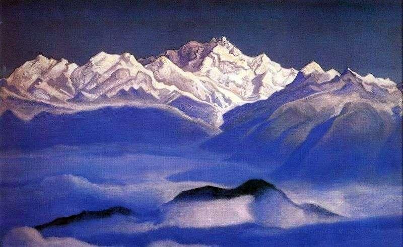 Гімалаї (Блакитні гори)   Микола Реріх
