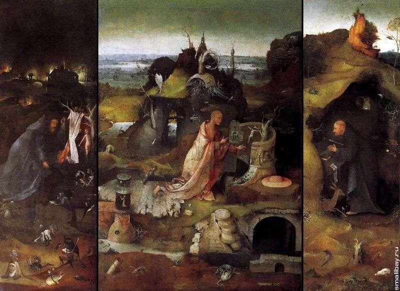 Святі відлюдники. Триптих   Ієронім Босх