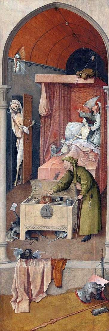 Смерть і Скупий   Ієронім Босх