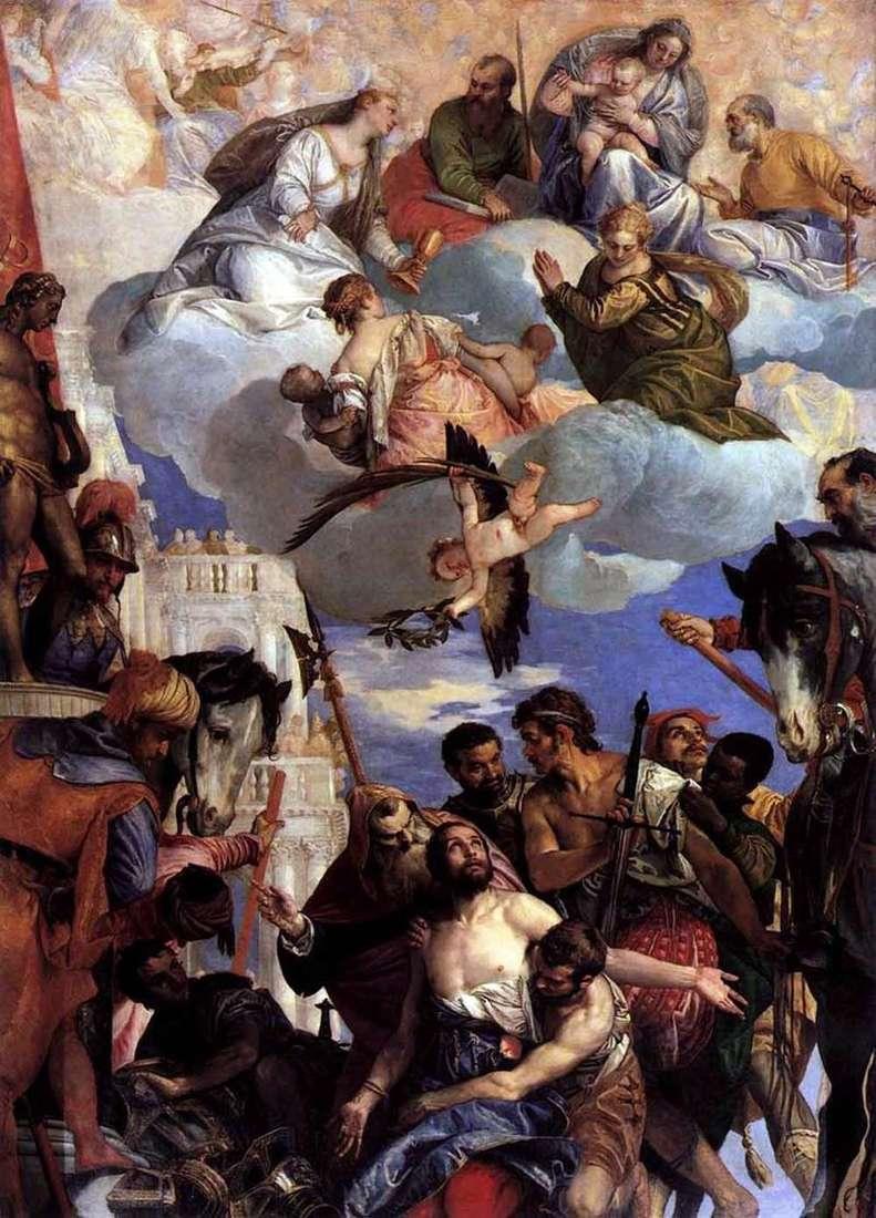 Умертвіння святого Георгія   Паоло Веронезе