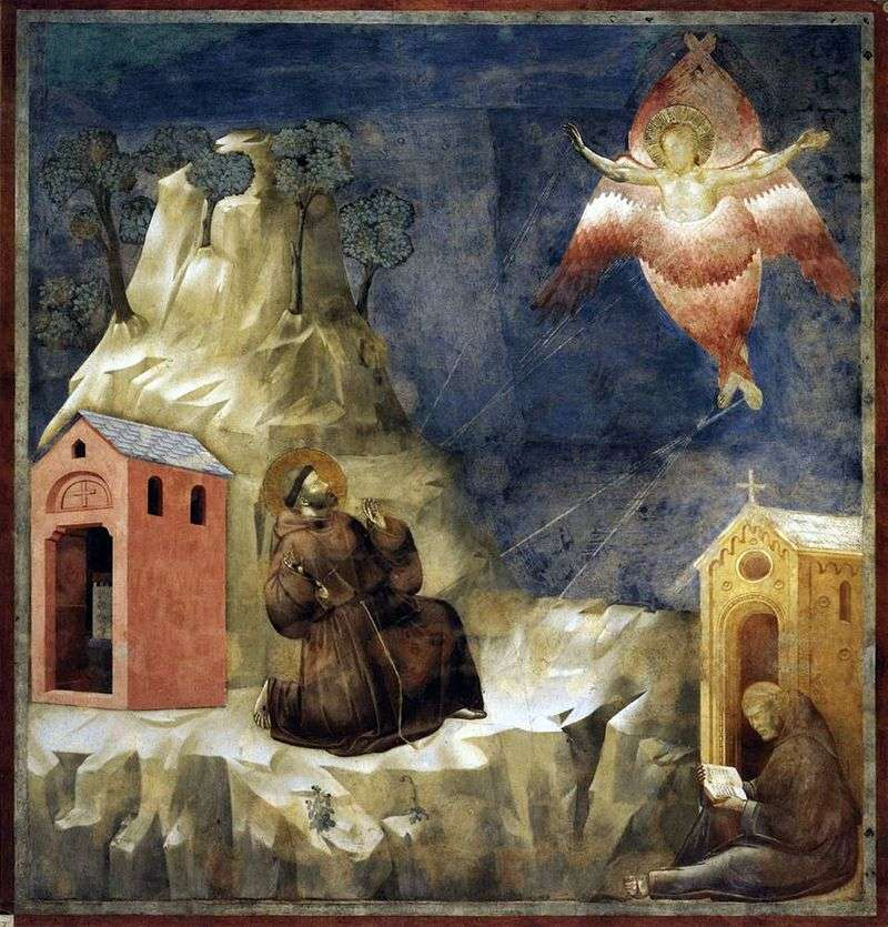 Стигматизація святого Франциска   Джотто