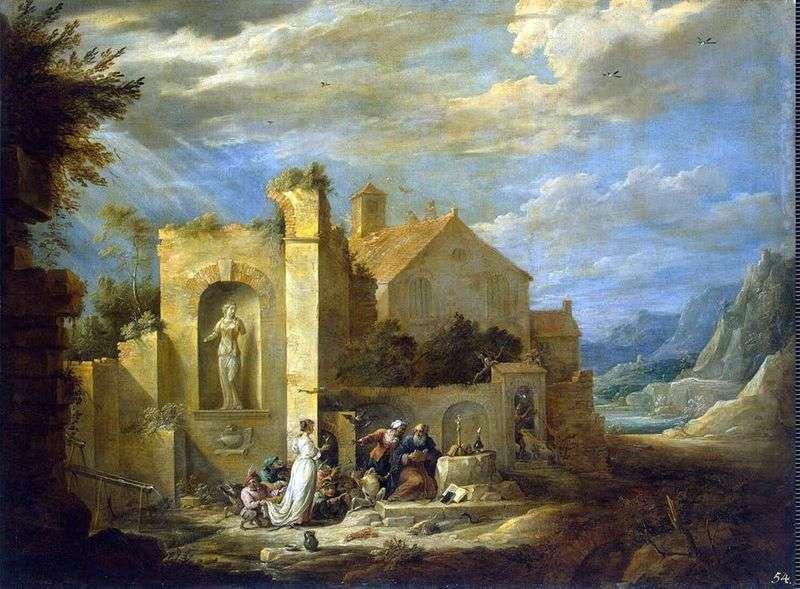 Спокуса святого Антонія   Давид Тенірс