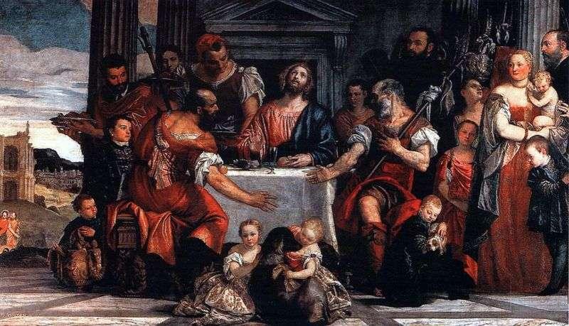 Христос в Еммаусі   Паоло Веронезе