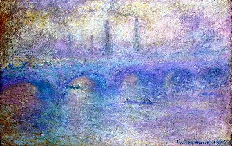 Міст Ватерлоо   Клод Моне
