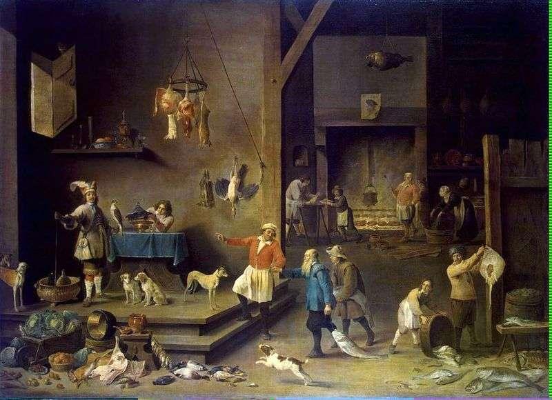 Кухня   Давид Тенірс