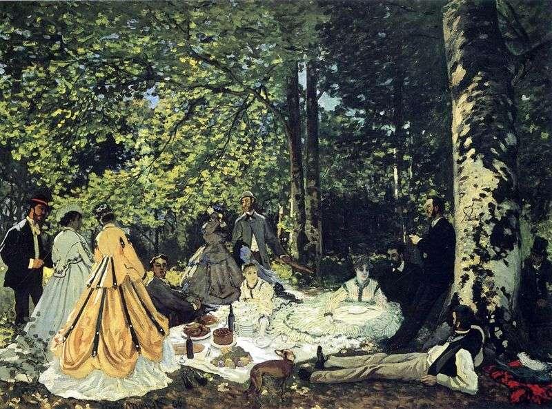 Пікнік на траві, Шайи   Клод Моне