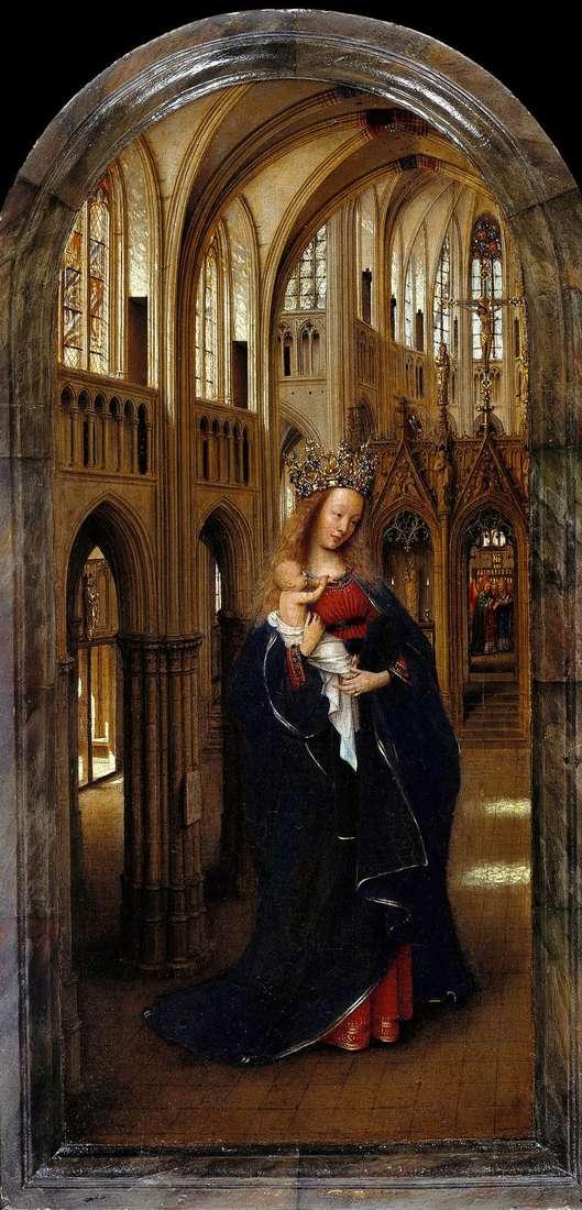 Мадонна в церкві   Ян ван Ейк