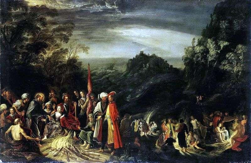 Диво Апостола Павла на острові Мальта   Давид Тенірс