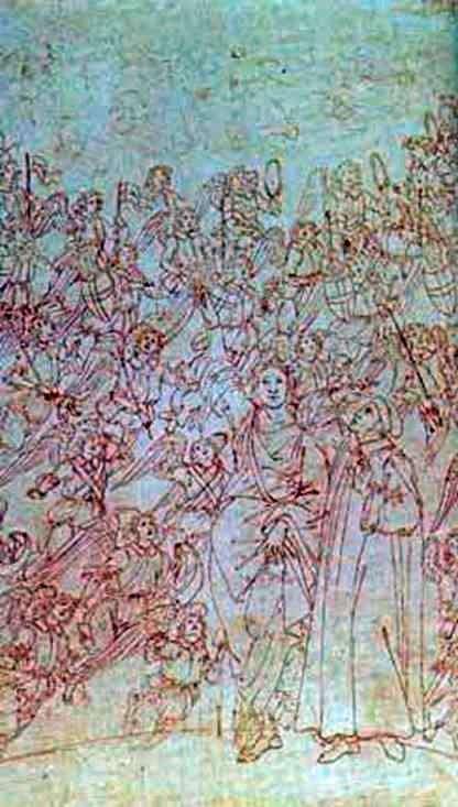 Данте і Беатріче, з Божественної Комедії   Сандро Боттічеллі
