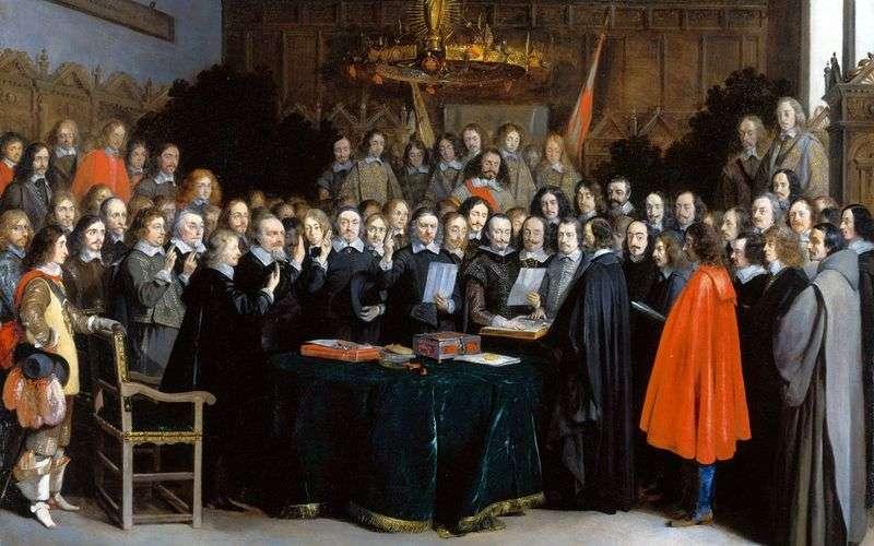 Вестфальський мир   Герард Терборх