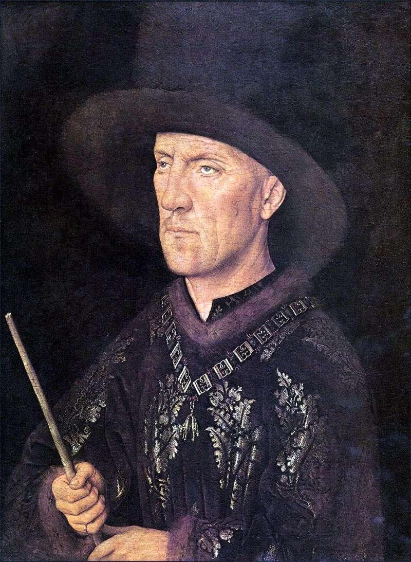 Портрет Бодуена де Ланоя   Ян ван Ейк
