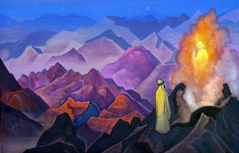 Магомет на горі Хіра   Микола Реріх
