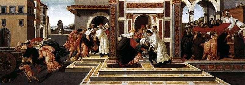 Історія святого Зиновія   Сандро Боттічеллі