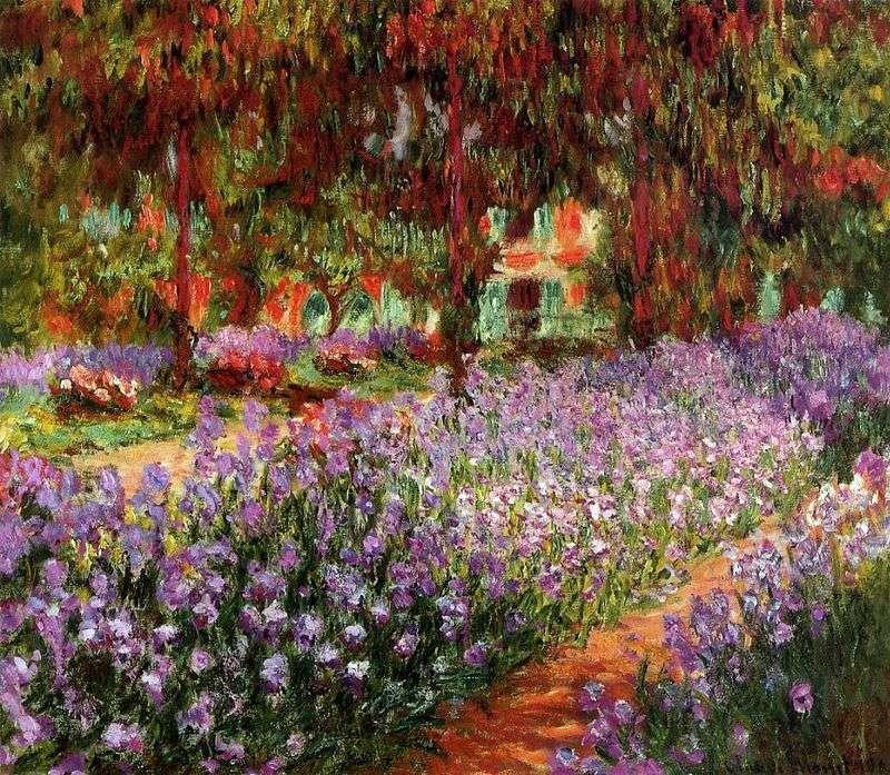 Сад (Іриси)   Клод Моне