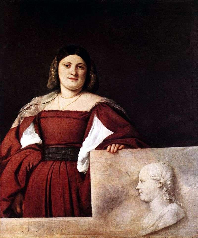 Жіночий портрет   Тіціан Вечелліо