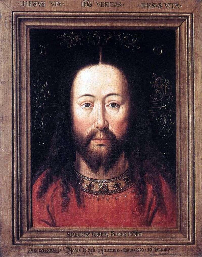 Портрет Христа   Ян ван Ейк