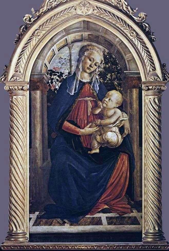 Мадонна в розарії   Сандро Боттічеллі