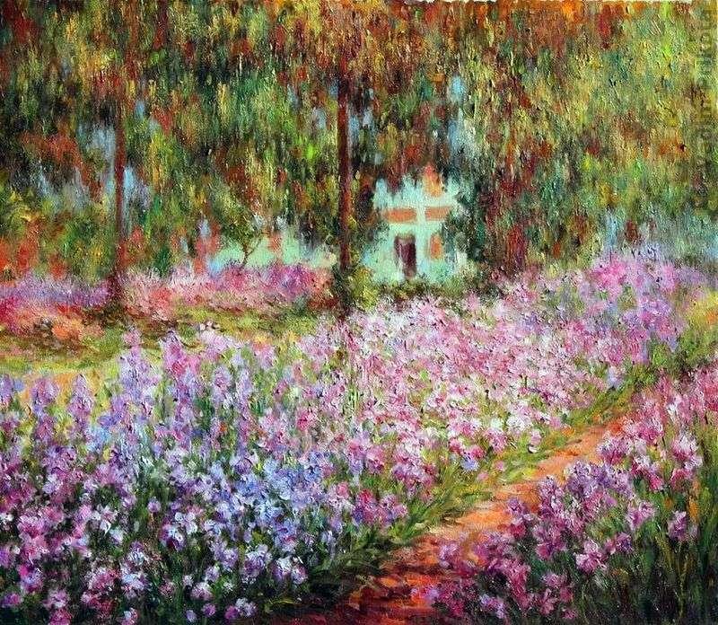 Сад художника в Живерні   Клод Моне