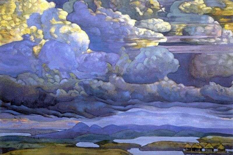 Небесний бій   Микола Реріх