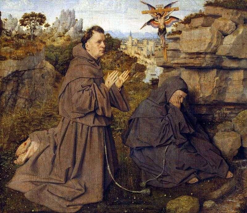 Стигматизація святого Франциска   Ян ван Ейк