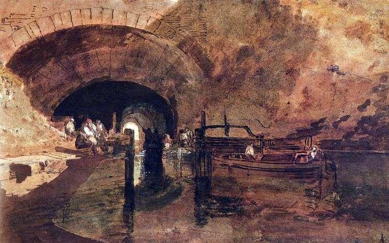 Канал в тунелі поруч з Лідсом   Вільям Тернер