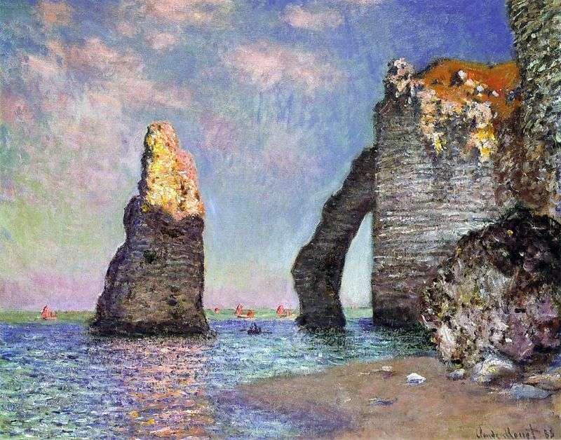 Скеля Егюй і Порт Аваль   Клод Моне