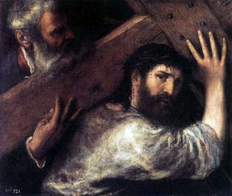 Несення хреста   Тіціан Вечелліо