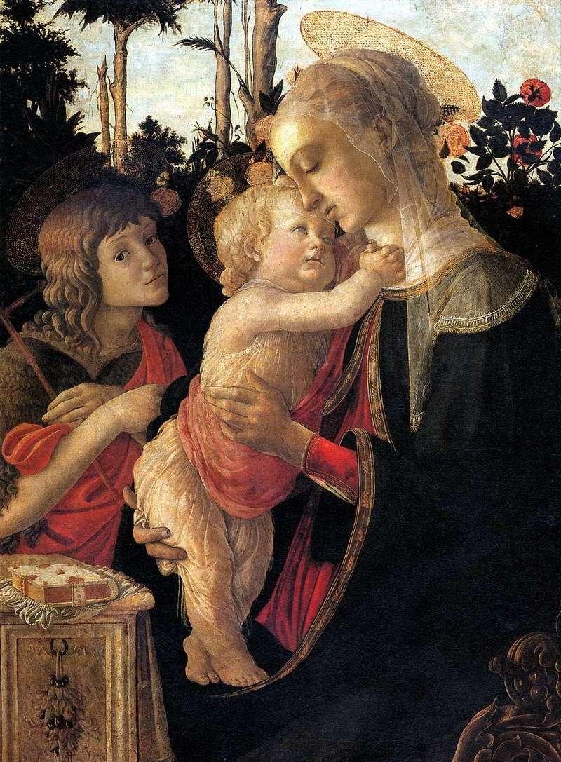 Мадонна з Немовлям і Іоанном Хрестителем   Сандро Боттічеллі