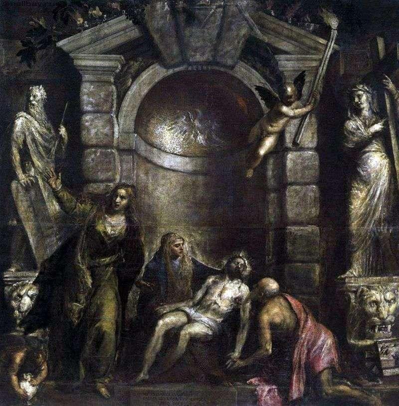 Оплакування Христа (Пєта)   Тіціан Вечелліо