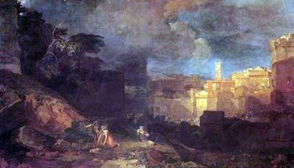 Десята кара Єгипетська   Вільям Тернер
