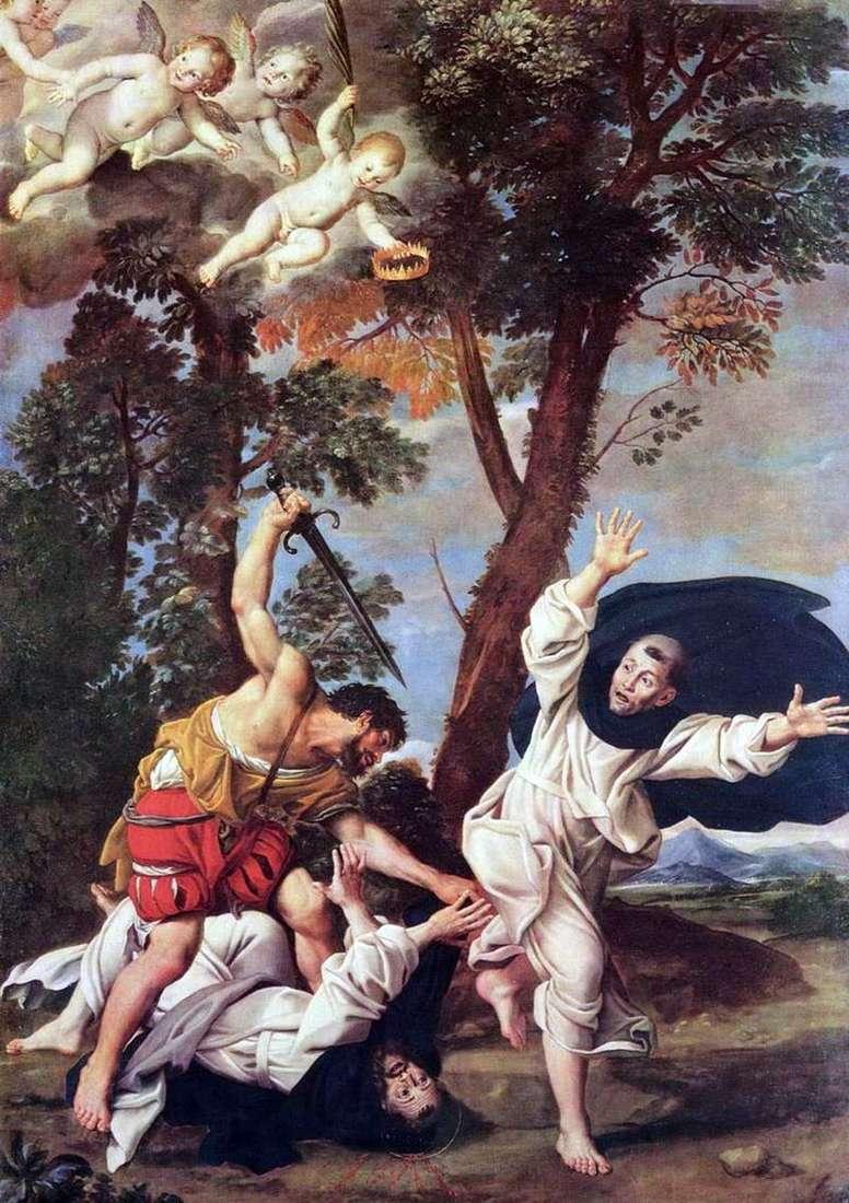 Мучеництво святого Петра Мученика   Доменикино