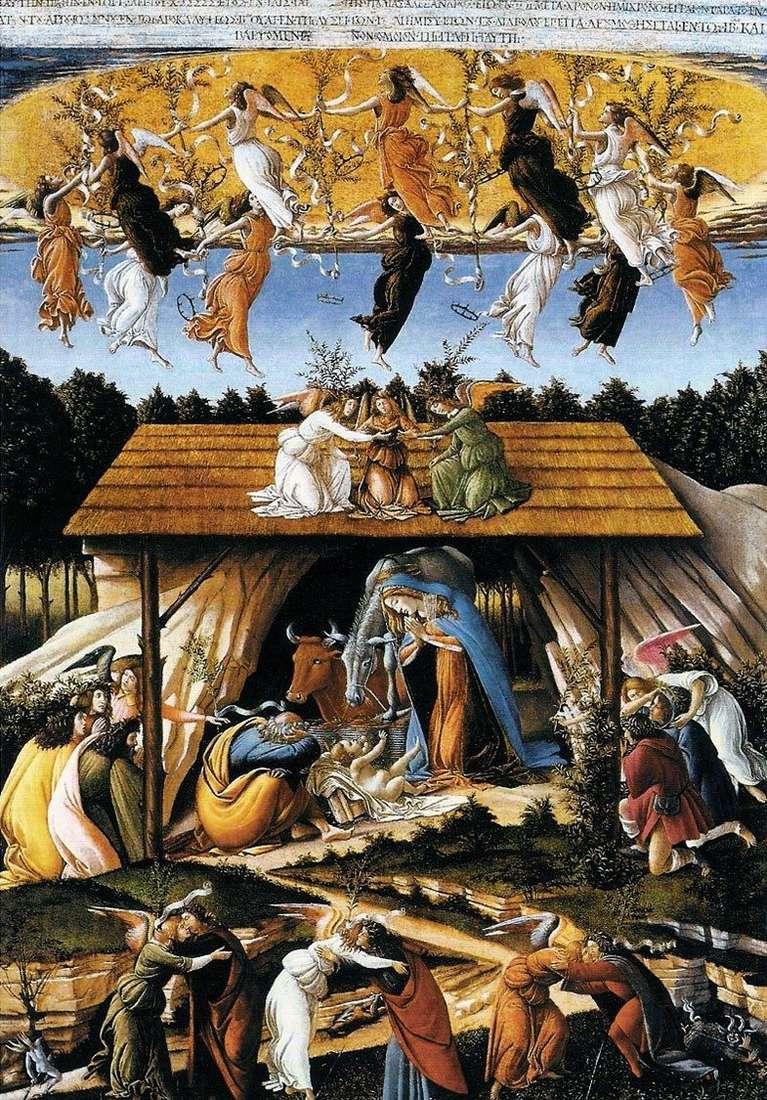 Містичне Різдво   Сандро Боттічеллі