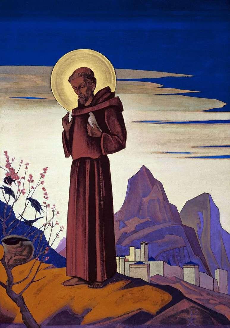Святий Франциск   Микола Реріх