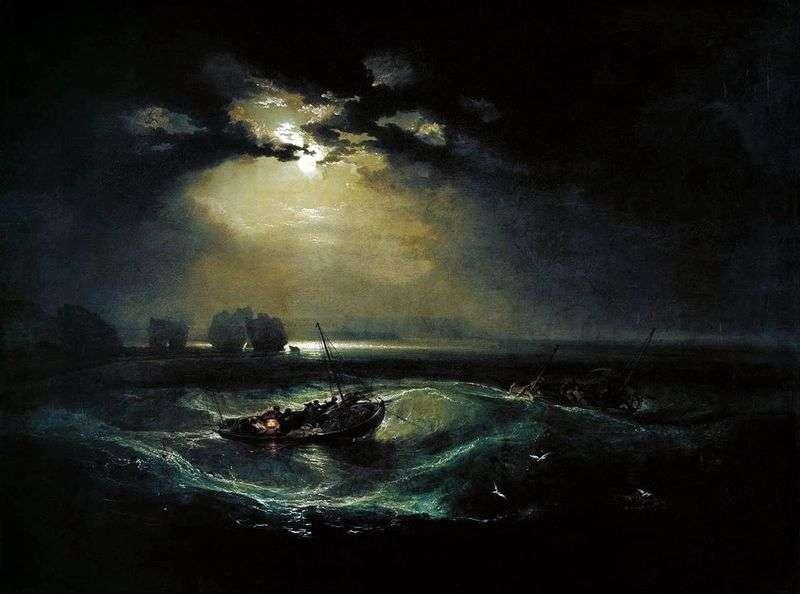 Рибалки у морі   Вільям Тернер