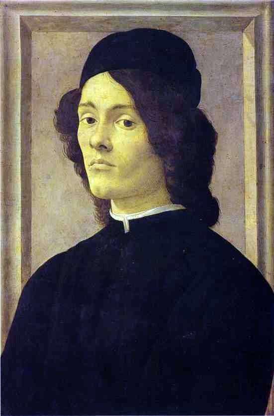 Чоловічий портрет   Сандро Боттічеллі