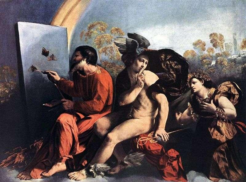 Юпітер, Меркурій і Чеснота   Доссі Доссо