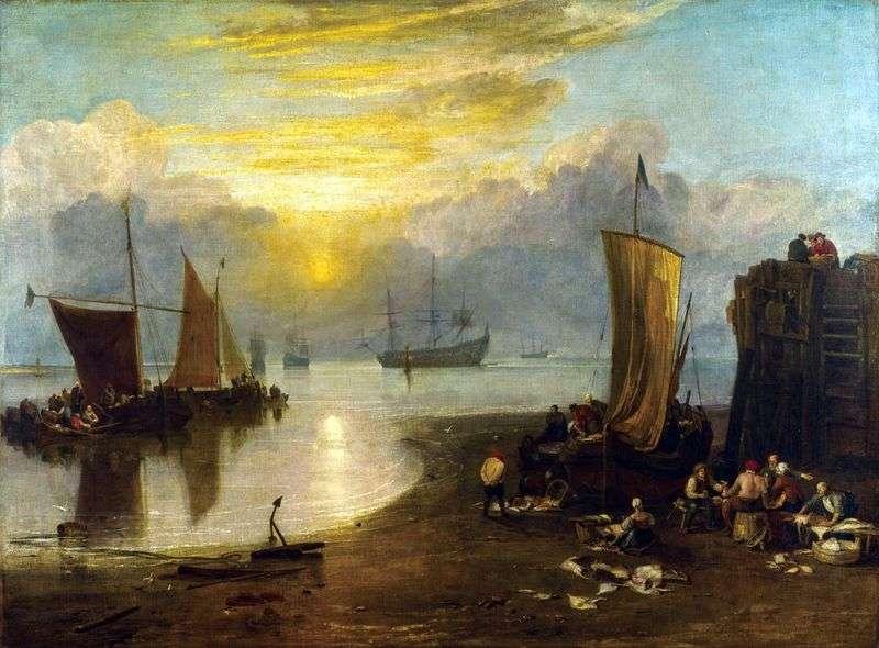 Сонце, що сходить в тумані   Вільям Тернер