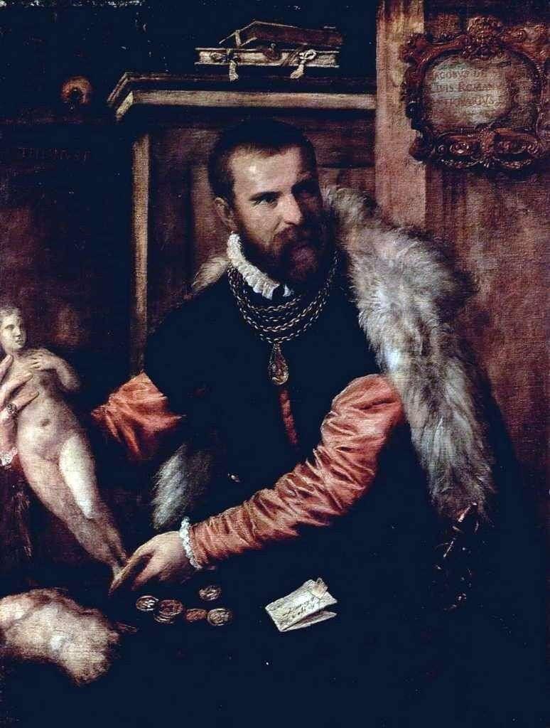 Портрет антиквара Якопо Страда   Тіціан Вечелліо