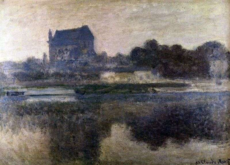 Церква в тумані   Клод Моне