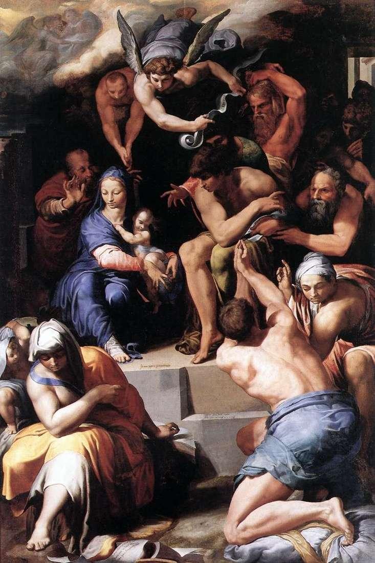 Поклоніння Немовляті Христу   Пеллегріно Тибальди