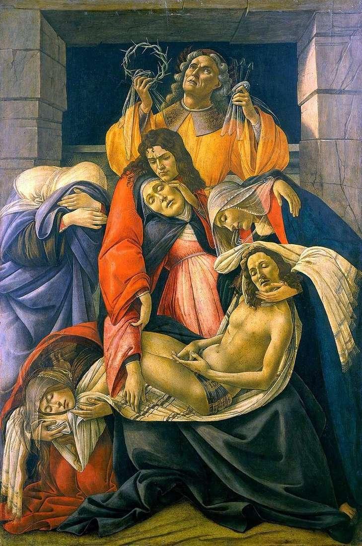 Оплакування Христа   Сандро Боттічеллі