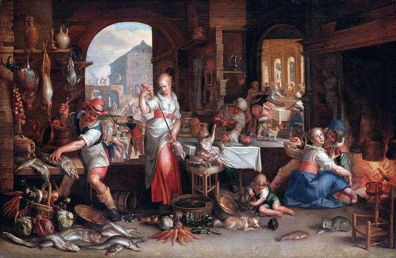Сцена на кухні   Йоахім Эйтевал
