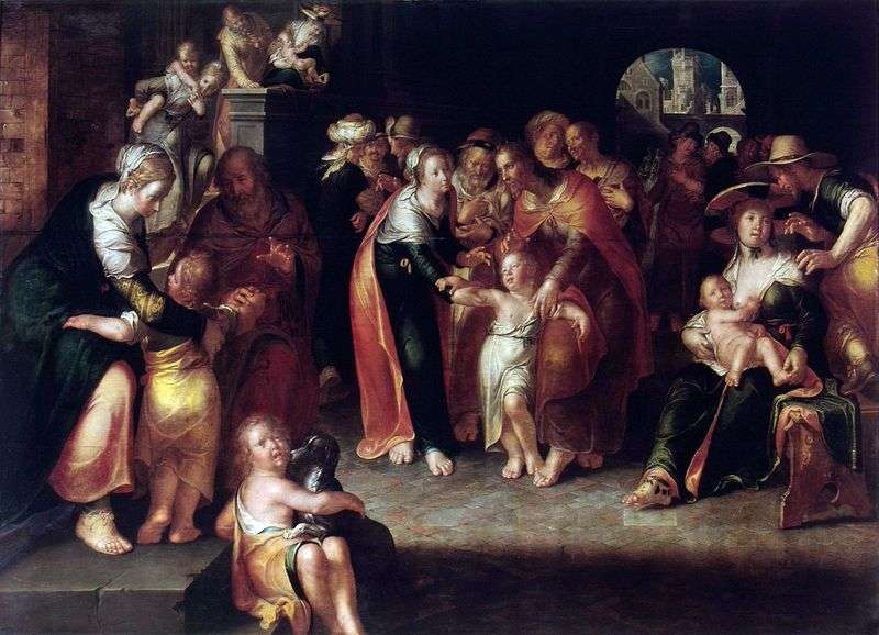 Христос і діти   Йоахім Эйтевал