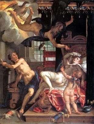 Юпітер і Даная   Йоахім Эйтевал
