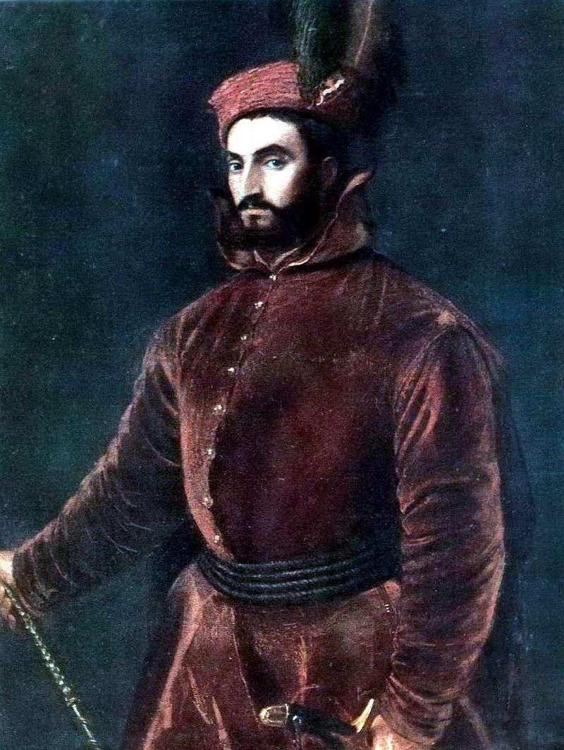 Портрет кардинала Іпполіто де Медічі   Тіціан Вечелліо